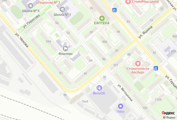 ЖК по ул. Ветошкина