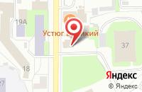 Схема проезда до компании Спецпром в Вологде