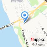 Велес на карте Ярославля