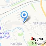 ДТА-Ярославна на карте Ярославля