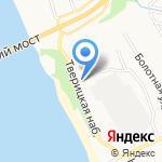 Эмалис на карте Ярославля