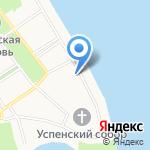 Ильинско-Тихоновская церковь на карте Ярославля