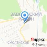 Форест на карте Ярославля