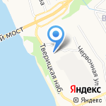 Военный комиссариат по Заволжскому району г. Ярославля и Ярославскому району на карте Ярославля