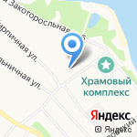 Хускварна-Ярославль на карте Ярославля