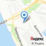 Черемховский кондитер на карте Ярославля