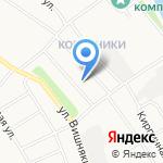 Туношна на карте Ярославля
