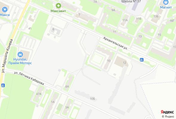 ЖК по улице Архангельская, 10