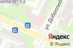 Схема проезда до компании Детская стоматологическая поликлиника №2 в Вологде