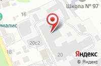 Схема проезда до компании Тверицы в Ярославле