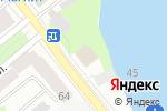Схема проезда до компании Физиомед в Вологде