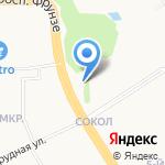 Татнефть на карте Ярославля