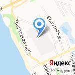 Ярославская фабрика валяной обуви на карте Ярославля
