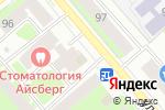 Схема проезда до компании Дисма в Вологде