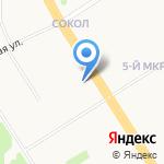 ТНК-Ярославль на карте Ярославля