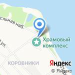 Церковь Иоанна Златоуста на карте Ярославля