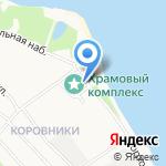Храм Владимирской иконы Божией Матери на карте Ярославля