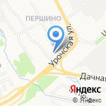 Русский фейерверк на карте Ярославля