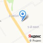 Лотос на карте Ярославля