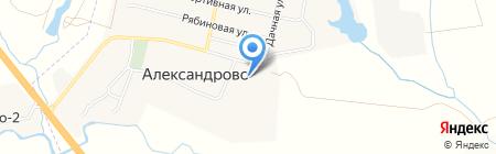 Александровская средняя общеобразовательная школа на карте Александрово
