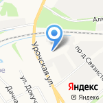 Александр на карте Ярославля