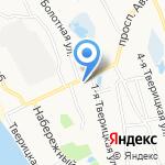 Энертек на карте Ярославля