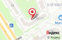 Схема проезда до компании Sushi SUNRISE в Ярославле