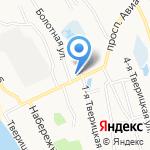 Пожарная часть №103 на карте Ярославля