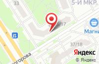 Схема проезда до компании Экстра в Ярославле