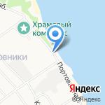 Следственный изолятор №1 УФСИН России по Ярославской области на карте Ярославля