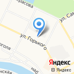 Кулина на карте Вологды