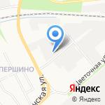 Ярославская городская электросеть на карте Ярославля