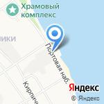 Ярославский мукомольный завод №1 на карте Ярославля