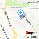 Яргазпроект на карте Ярославля