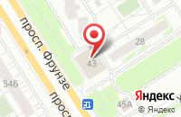 Схема проезда до компании Магазин роллов и живого пива в Ярославле