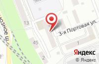 Схема проезда до компании Эдванс-Ярославль в Ярославле