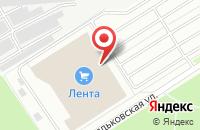 Схема проезда до компании Subway в Ярославле