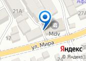 Эос на карте
