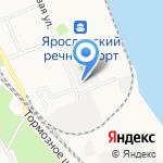 Еремеевское на карте Ярославля