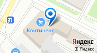 Компания Инсейф на карте
