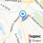 СпасАвто76 на карте Ярославля