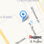 Дружная семья на карте Ярославля