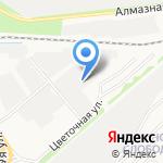 Связьстрой-3 на карте Ярославля