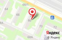 Схема проезда до компании Семь Лепестков в Вологде