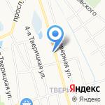На Союзной на карте Ярославля