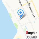Тверицкий берег на карте Ярославля