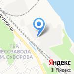 Азимут на карте Ярославля