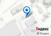 Кубаньтехгаз, ЗАО на карте