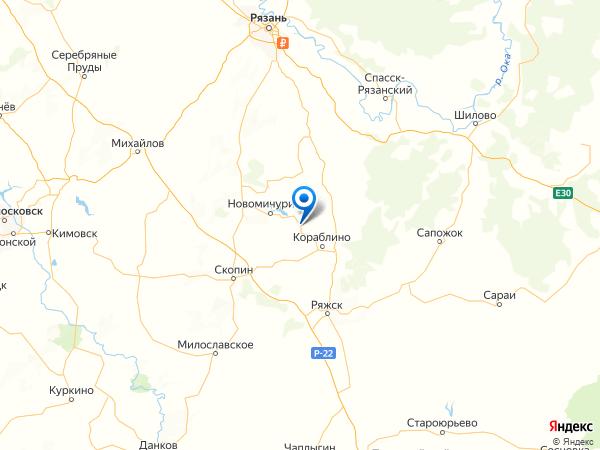 деревня Красные Выселки на карте