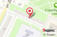 Схема проезда до компании Кактус в Вологде
